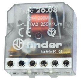 Finder impulzusrelé 26.08,2Z, 230V
